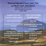 farm open day diwrnod agored pont cymru