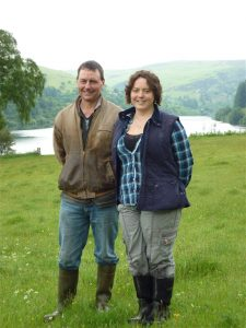 Brian and sorcha lewis pont cymru nature friendly farming grazier of the month